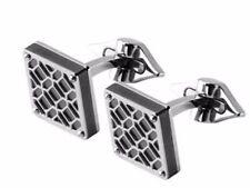 MONTEGRAPPA Filigree Stainless Steel Square Cuff links IDOMCLPS cufflinks