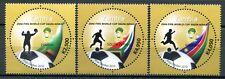 Zambia Sambia 2010 Fußball WM FIFA Word Cup SAPOA Soccer 1630-32 MNH