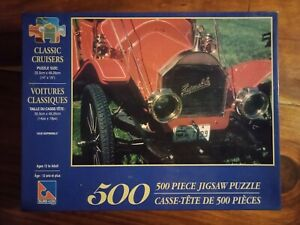 Classic Cruisers 1910 HupmobileJigsaw Puzzle 500 pieces Diabolical Complete