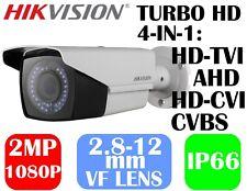 Hikvision 2MP HD VF2.8~12mm IR Bullet Camera DS-2CE16D0T-VFIR3F TVI/AHD/CVI/960H