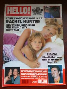 HELLO! MAGAZINE #579 / 1999 SEPT 28 / RACHEL HUNTER / KATE DRIVER /