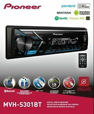 PIONEER MVH-S301BT BLUETOOTH USB AUX CAR STEREO DIGITAL MEDIA RECEIVER PLAYER