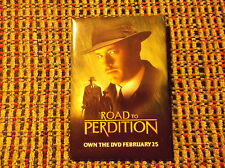 ROAD TO PERDITION MOVIE PIN TOM HANKS