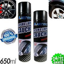 Foam Clean Rubber Wheels Professional 650ML Moisturizes Rim Wheel Tyre