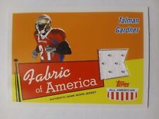 2003 Topps All American Talman Gardner New Orleans Saints Florida State - Jersey