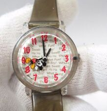 MICKEY MOUSE, Floating Mickey Second Hand, Cool Kids/Girls/UNISEX WATCH, 948 W@W