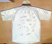 Camiseta Real Madrid Firmada Nueva Adidas 99-00 BNWT Signed Shirt Trikot Maillot