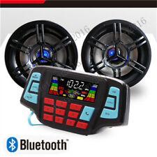 3' UTV/ATV/Snowmobile/Marine Amplified Speaker System Bluetooth US STOCK