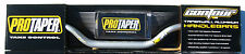 "Pro Taper Contour Silver Fat Handlebar YZ High Bend 1-1/8"" 28.6mm Bar Pad NEW"