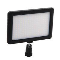Mini 192 LEDs Camera Video Light Dimmable 3200K/6000K Hot Shoe for Canon Nikon