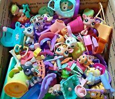 Lot of Littlest pet shop pets and other small vintage toys. Read description