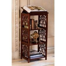Wooden Bookstand for Reading Gothic Antique Replica Raised Display Book Stand