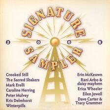 SIGNATURE SAMPLER 2008 CD Dave Carter & Tracy Grammer Peter Mulvey Mark Erelli