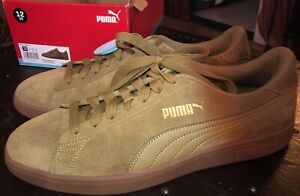 Puma Smash V2 Moss Men's 12 RARE Color