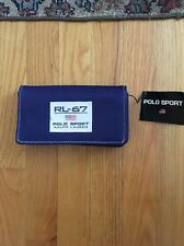 Women's Ralph Lauren Polo Sport Wallet NWT Flag USA Spell-Out Vintage 1990's