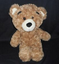 "17"" BUILD A BEAR BROWN TEDDY BIG HEAD BEAREMY STUFFED ANIMAL PLUSH TOY BABW"