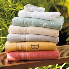 TWO (2) NWT GRADIN ROAD TURKISH WASH CLOTHS / FACE CLOTHS IN AQUA HAZE