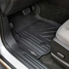 2015-2018 Chevrolet Colorado OEM Front & Rear All-Weather Floor Mats Black NEW
