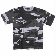 Camouflage Cotton Short Sleeve Basic T-Shirts for Men