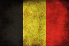 Belgium Flag Metal Sign Signboard Metal Tin Sign 20 x 30 CM