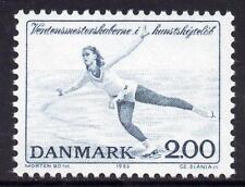 Denmark MNH 1982  Figure Skating World Championships
