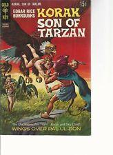 KORAK SON OF TARZAN #26 Gold Key  (1968) 15 Cent Cover