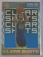 Stephen Curry ^Acetate^ 2019-20 Illusions 🏀 *Sapphire* Clear Shots