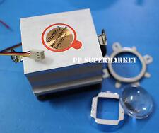 20-100W LED Aluminium Heat Sink Cooling Fan+60-80°44mm Lens + Reflector Bracket