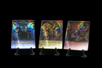 Yugioh Orica God Cards Holo 3 card set Obelisk  Tormentor, Winged Dr, Slifer