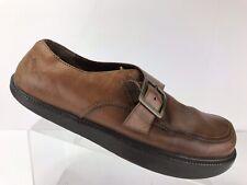 Earth Kalso Negative Heel Exeter Alpaca Brown Leather Walking Comfort Shoe 11.5