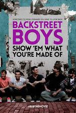 BACKSTREET BOYS: SHOW EM WHAT YOU'RE MADE OF - DVD - Region 1 - Sealed