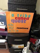 "A Tribe Called Quest Oh My God Remixes 12"" VG+ Hip Hop Vinyl Single 1994"