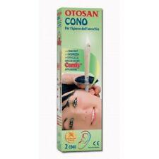OTOSAN CONO - 2 coni per l'igiene dell'orecchio