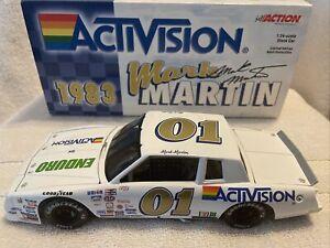 Mark Martin #01 Enduro Activision 1/24 1983 Chevy Monte Carlo Action RCCA NASCAR