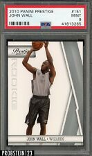 2010 Panini Prestige #151 John Wall Wizards PSA 9 MINT