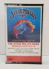 Steve Miller Band Greatest Hits 1974-1978 Cassette Tape Classic Rock