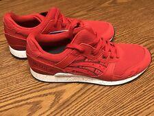 Asics H63LQ Gel Lyte III 3 Men's Red Blue Sneaker Shoes Men's Size 9 9.5 10 NEW