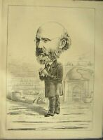 Antique Old Print *1905 Portrait Dr Fergus Bailie 1874 My Conscience Glasgow