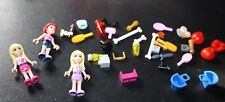 Lego Specialty Piece Lot Mini Figures Dog Bones Baskets Brushes    -GGGG
