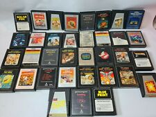Atari 2600 Games Cartridges Job Lot Bundle (Inc. Ghostbusters, Action Man) x 35