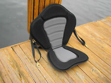 KAYAK NEW DELUXE THERMO MOLDED SIT-ON-TOP KAYAK SEAT WITH STORAGE BACK PACK+ROD