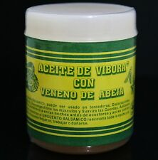 Aceite De Vibora Con Veneno De Abeja (Snake Oil And Bee Venom Ointment) 4oz
