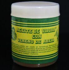 Aceite De Vibora Con Veneno De Abeja (Snake Oil And Bee Venom Ointment) 4oz
