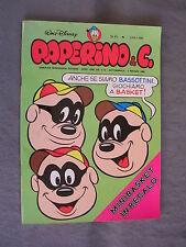PAPERINO E C. #  45 - 9 maggio 1982 - CON INSERTO - WALT DISNEY - OTTIMO