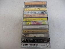 12 Cassette tapes of Folk