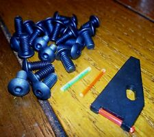 Kel Tec 2000 - Fiber Optic Front Sight and 25 Screw Upgrade Set