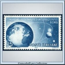 1956 Italia Repubblica Congresso Astronautico n. 805 **