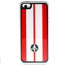 For iPhone 5 5S Licensed Ford Mustang Shelby Cobra Red Stripes Cover Case