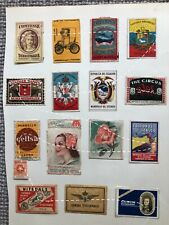Matchbox Covers; about 70; Foreign Countries; Finland etc; 1900's