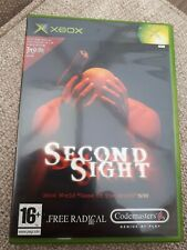 Second Sight Microsoft Xbox 16+ Action FPS Shooter Game-très bon état.